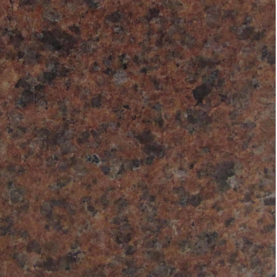 Missouri Red Granite : Missouri red pierres technoprofil