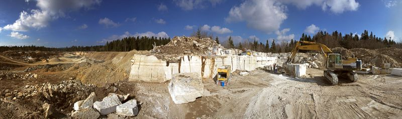 carriere Natural stone quarries