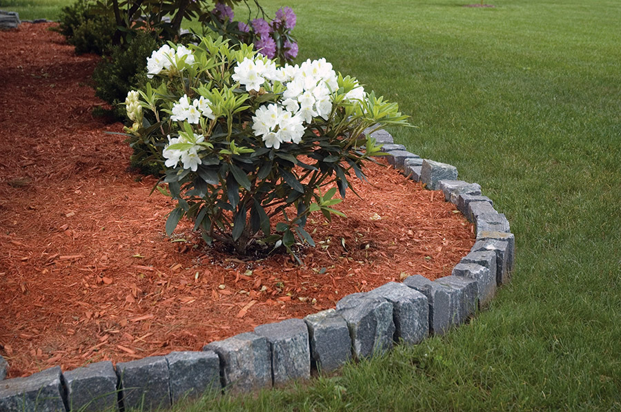 Aménagement paysager pierre naturelle