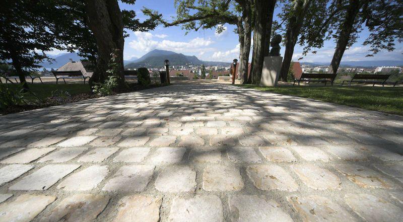 chemin pierre naturelle