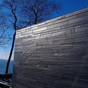 Mur en ardoise