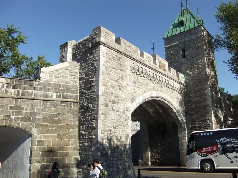 Mur du vieux Québec