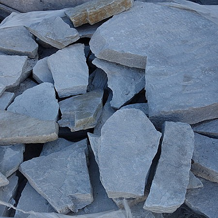 silice chamois pale muret ou pave